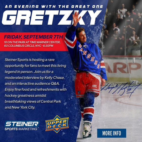 An Evening With The Great One: Wayne Gretzky – Steiner Sports