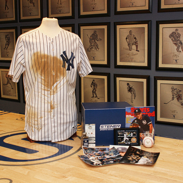 New York Yankees Ultimate Fan Gift Bundle w/ Game Used Jersey – Steiner Sports