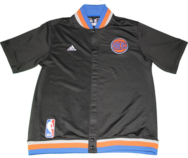 best sneakers f1230 802f9 Kyle O'Quinn New York Knicks 2015-16 Game Used #9 Black Short Sleeve Jacket  (12/7/2015) (2XL)
