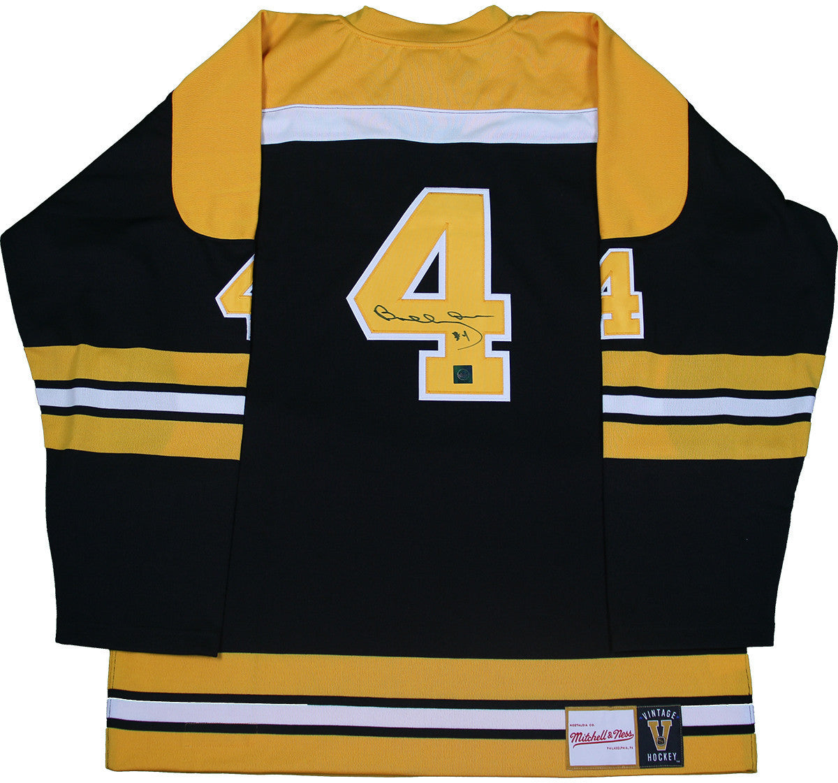 a416c9a23 Bobby Orr Boston Bruins Signed Mitchell   Ness Jersey  GNR COA ...