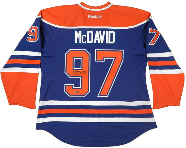 Mcdavid Autographed Connor Autographed Mcdavid Jersey Connor Jersey Connor