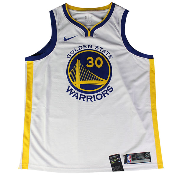 ceda64708c9d Stephen Curry Golden State Warriors Signed Nike White Swingman Jersey –  Steiner Sports