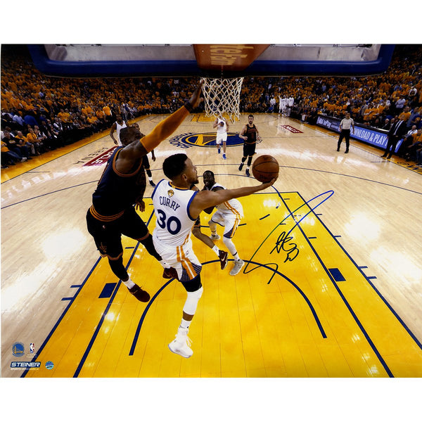 ee00f49fe Stephen Curry Golden State Warriors Signed  NBA Finals Layup Against L –  Steiner Sports