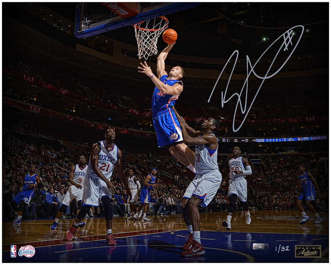 Blake Griffin Signed Poetry In Motion 16x20 Photo (LE 32)  3-BGPH16011  e22dfb2c0