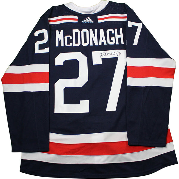 Ryan McDonagh New York Rangers Signed 2018 NHL Winter Classic Jersey –  Steiner Sports 2eaee14bb5b