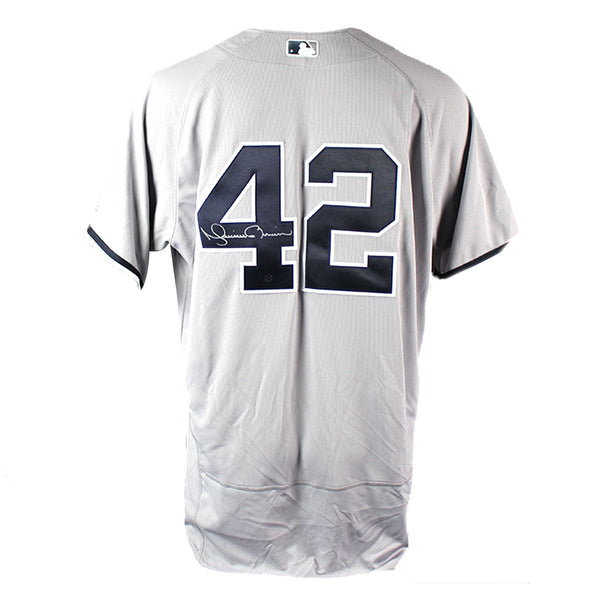 Mariano Rivera Signed Authentic Flex Base Yankees Away Jersey – Steiner  Sports 2bae6523fd2