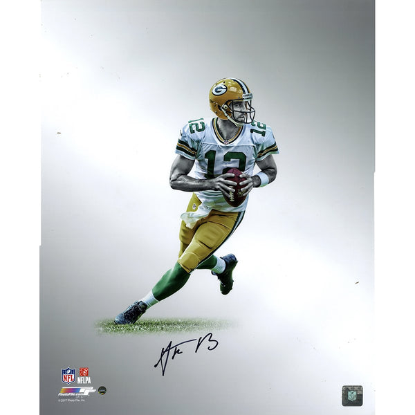 753e467b6 Aaron Rodgers Green Bay Packers Signed Platinum Collection 16x20 Photo –  Steiner Sports