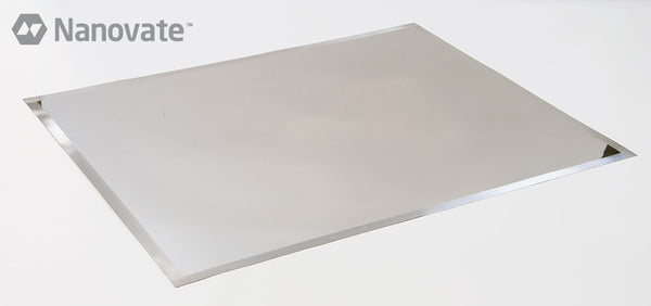 "(23"" x 24"") Nanovate Fine Grain Nickel Foil for laser-cut SMT stencils"