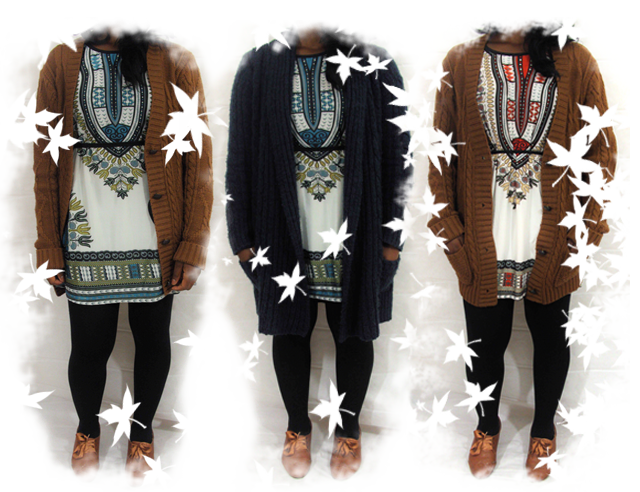Look Book - Styling the Ethnic Dashiki Dress