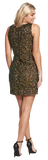 Dresses, Gold Beaded Sequins Bodycon Dress - IkoChic