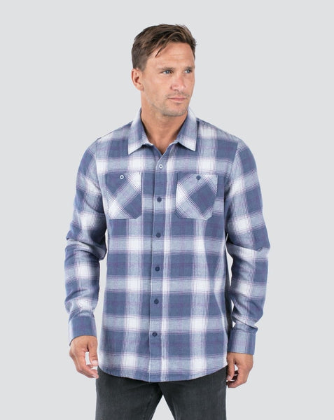 Travis Mathew - MATTESON - Button Down Shirt - Vintage Indigo