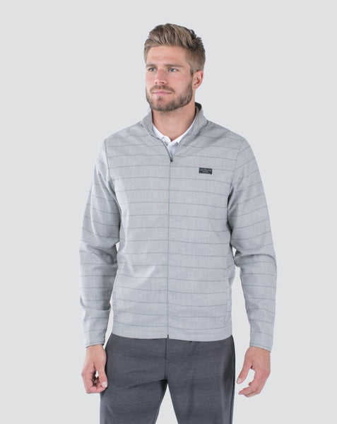 Travis Mathew - MEX - Lightweight Jacket - Heather Sharkskin