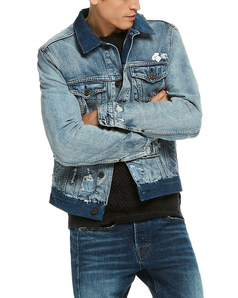 Scotch & Soda - Denim Trucker Jacket Customized