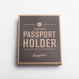 Izola Canvas Passport Holder