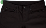 The Unbranded Brand UB255 Tapered Fit Black Chino Selvedge