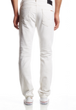 Hudson Jeans - Slouchy Skinny Fit - White Distressed