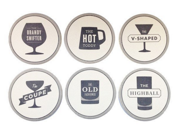IZOLA HAPPY HOUR COASTERS