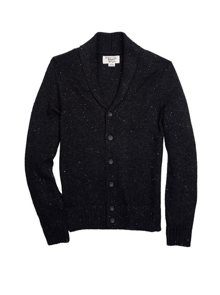 Original Penguin -  Cardigan  Dark Charcoal