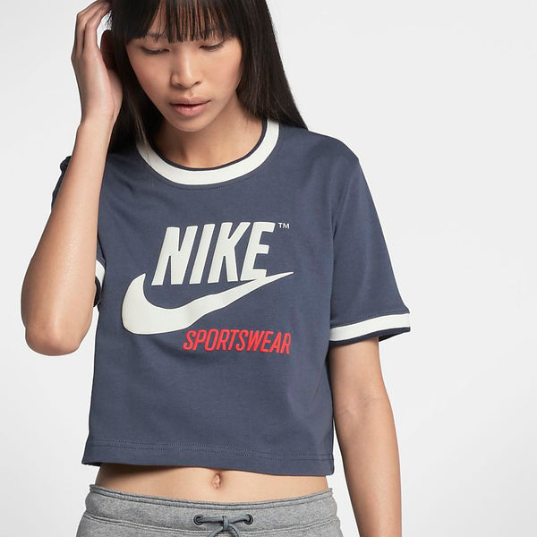 Nike - Womens Crop Top - Thunder Blue
