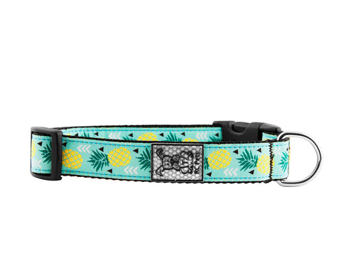 Dog Clip Collar -  Pineapple Parade