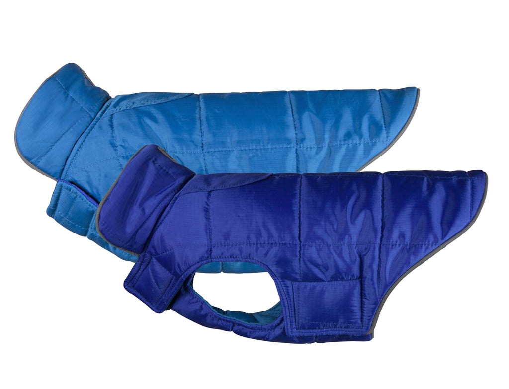 Skyline Puffy Vest - Electric Blue/Cyan