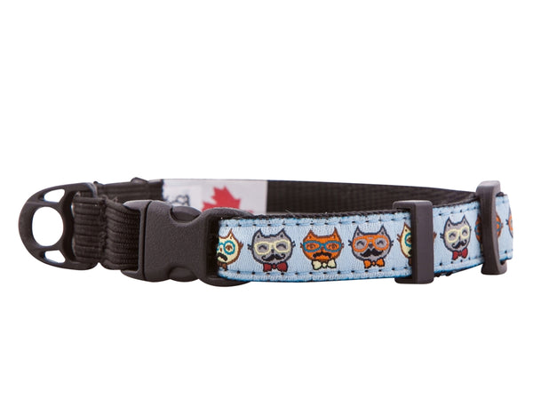 Kitty Clip Collar (Various Patterns)