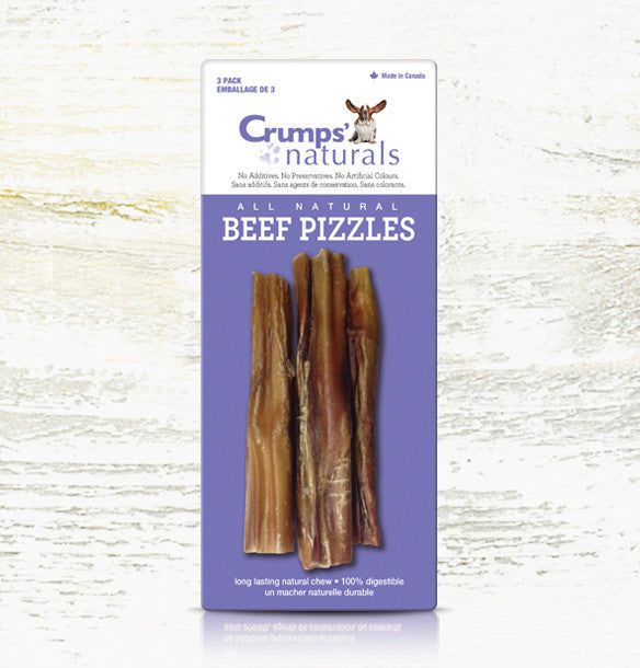 "Beef Pizzles (3 pack x 6"")"