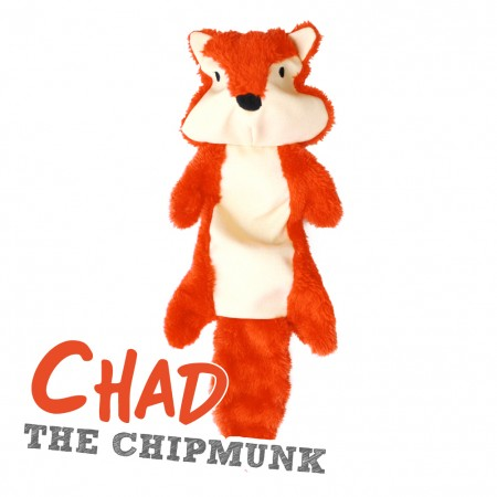 Stuffing Free Chipmunk Toy