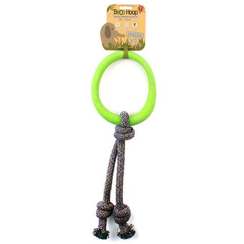Hoop on a Rope Dog Toy - Large