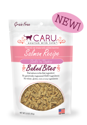 Caru Salmon Recipe Bites for Cats