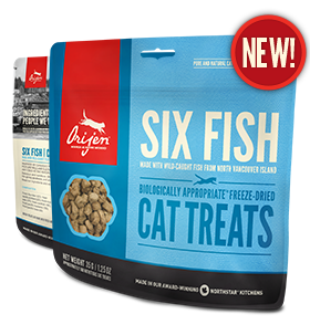 Orijen Six Fish Freeze Dried Cat Treat