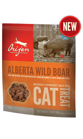 Orijen Alberta Wild Boar Freeze-Dried Cat Treat