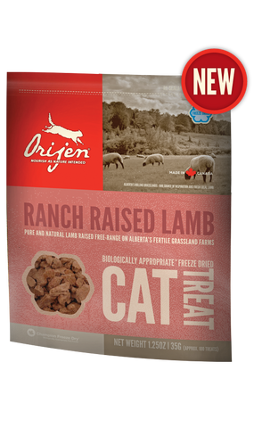 Orijen Ranch Raised Lamb Freeze-Dried Cat Treat