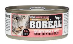 Boreal Cat Wet Food - Red Tuna with Shrimp in Gravy