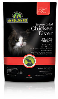 Freeze Dried Chicken Liver for Cats
