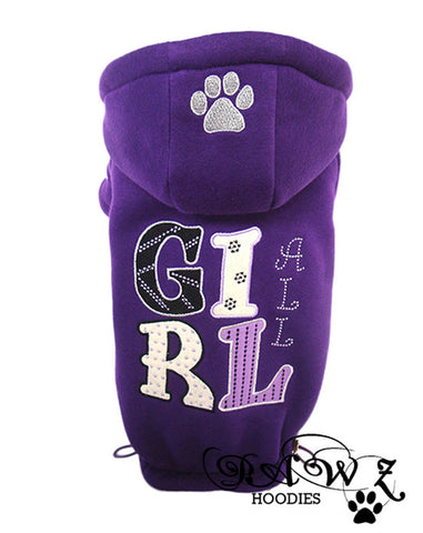 All Girl Purple Hoodies
