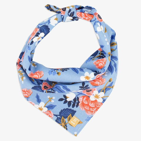 Tie-On Bandana - Birch Floral