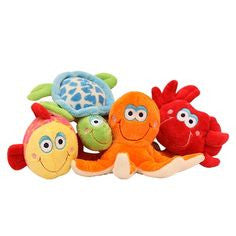 Ocean Friends Plush Dog Toys