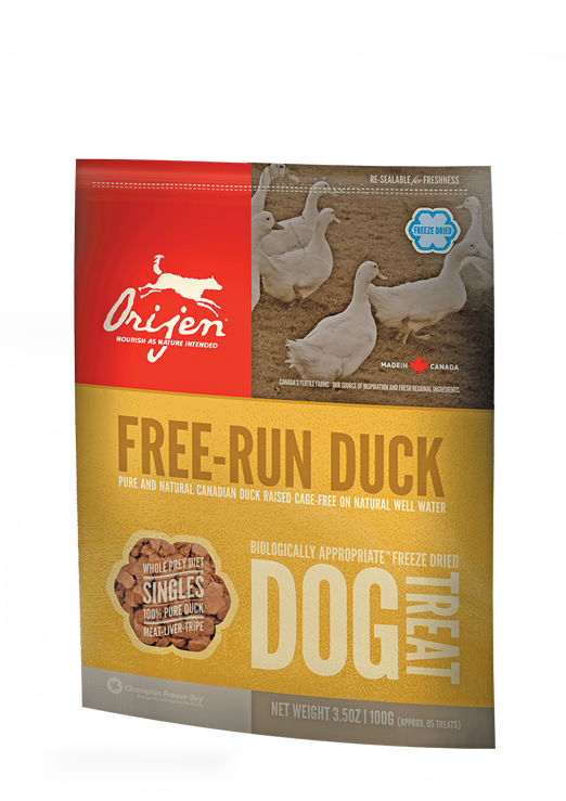 Orijen Free Run Duck Freeze Dried Dog Treats