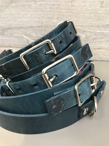 Anduril Martingale Collar - Navy