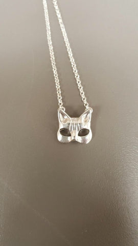 Kitty Mask Pendant