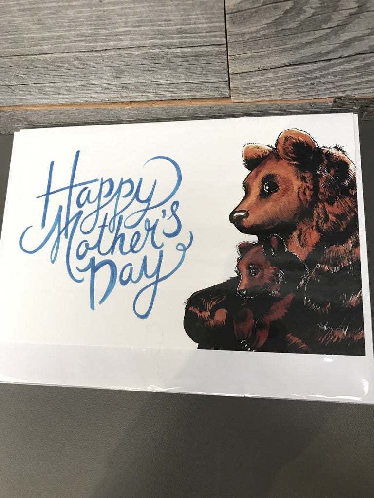 Becky Warren Greeting Card - Mother's Day Bears