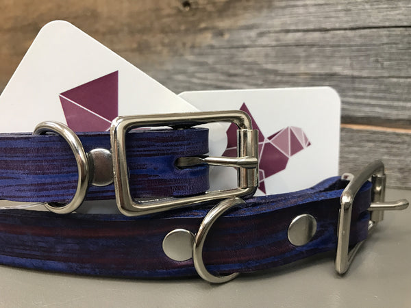Underhill Buckle Collar - Purple