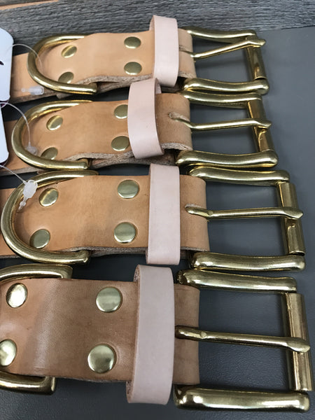 Undomiel Buckle Collar - Natural Tan