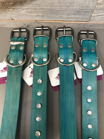 Pelennor Buckle Collar - Teal