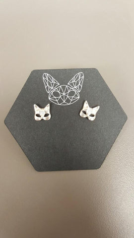 Kitty Mask Earrings