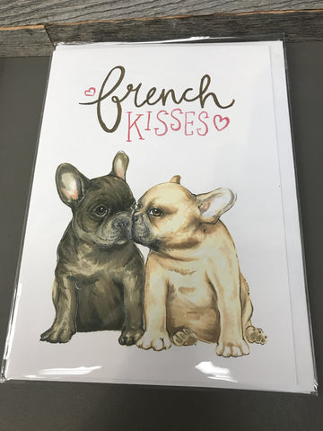 Becky Warren Greeting Card - French Kisses