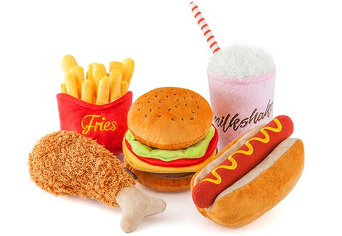 Fast Food Plush Toys