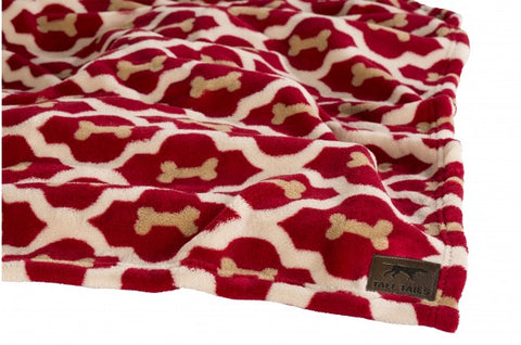 Fleece Blanket - Red Bones