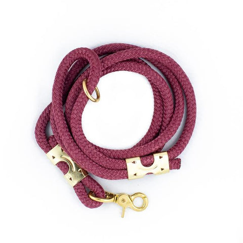 Berry Rope Leash